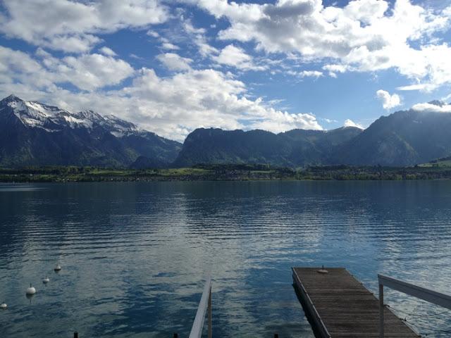 Schweiz, Urlaub, Thun, Berner Oberland, Aare