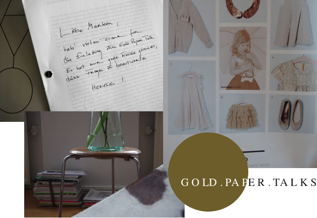 Gold.Paper.Talks, Marlene, Blog