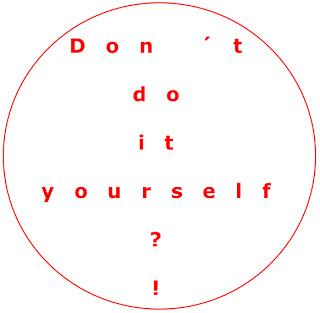 Don´t do it yourself, Kreativitaet, DIY, Unbehagen