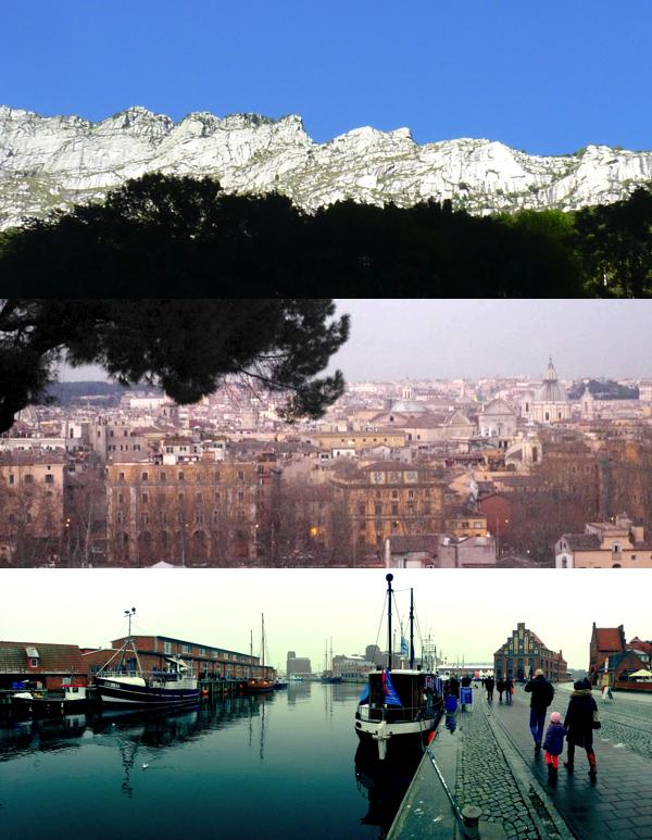 Auszeit, Traum, Sehnsuchtsorte, Wasser, Berge, Stadt