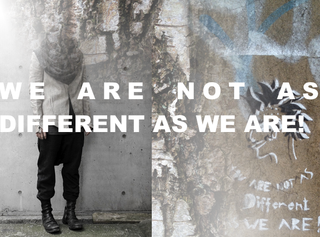 M i MA; we are not as different as we are