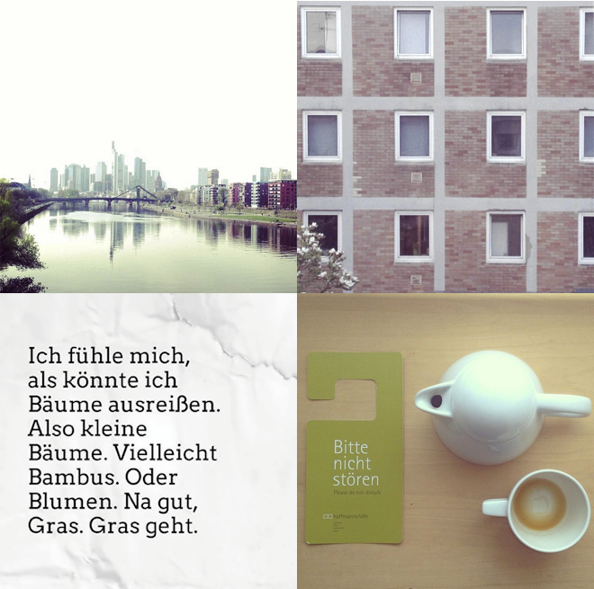 M i MA, Frankfurt, Hoffmanns Höfe, Visual Statements, Bäume ausreißen