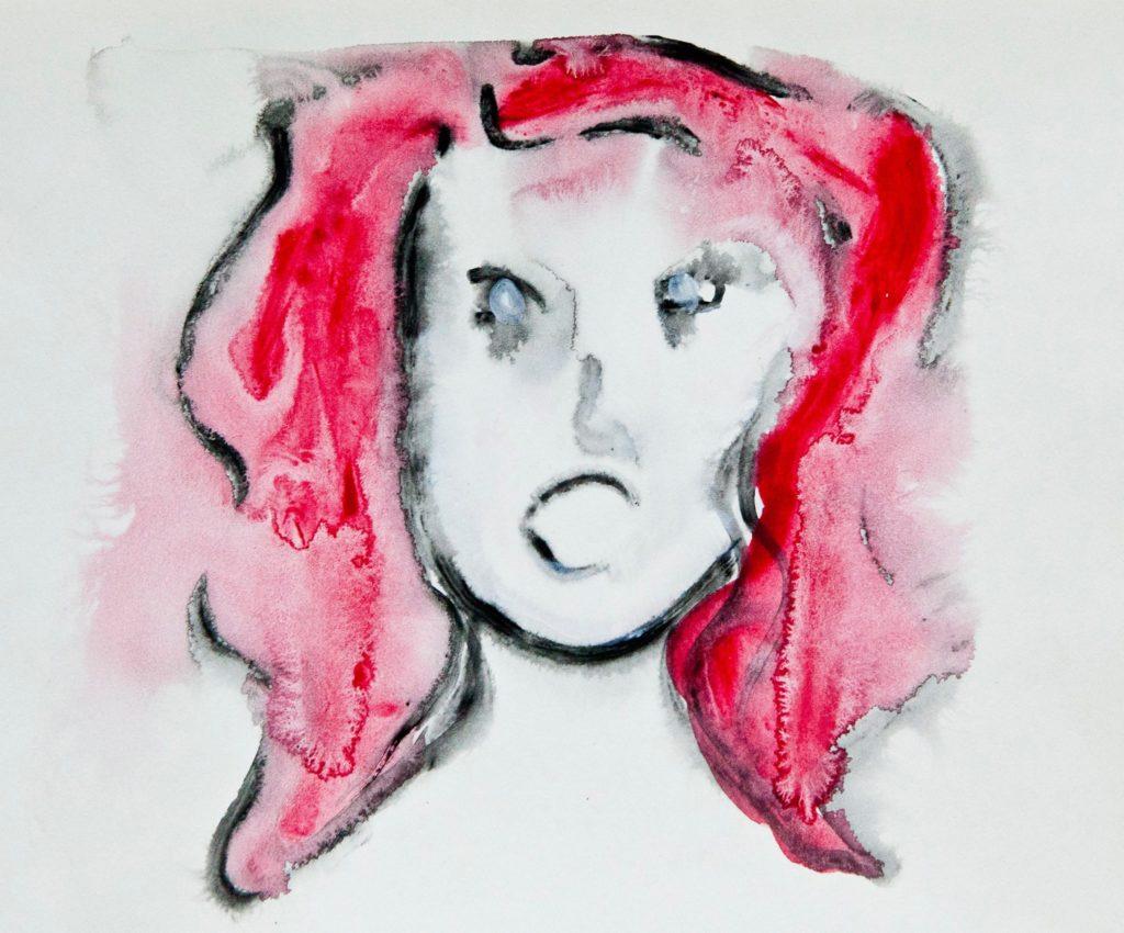 Seeing Her Ghosts, Kirsten Becken, Schizophrenie