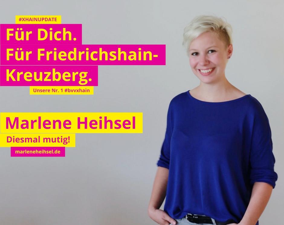 Marlene Heisel FDP Xhain
