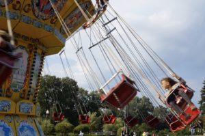 Karussel im Gorki Park Moskau