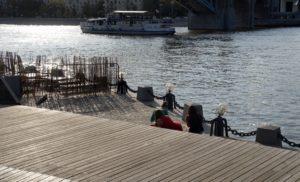 Am Ufer der Moskva