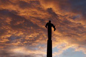 Der Himmel ueber Moskau