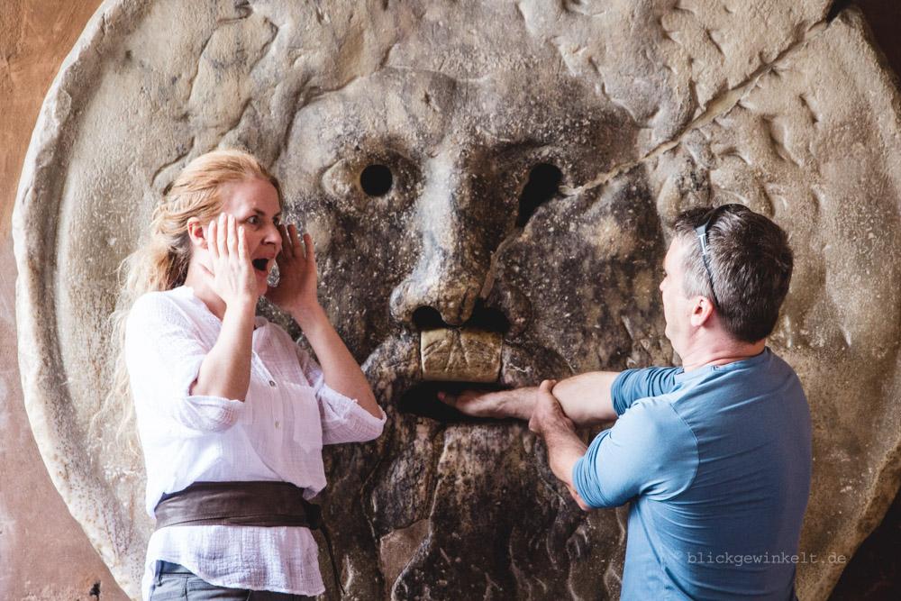 Ein Foto von Inka Cee von blickgewinkelt zeigt sie und ihren mann in rom