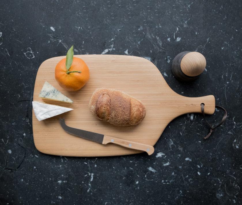 Brettchen mit Messer von Heute ist Morgen