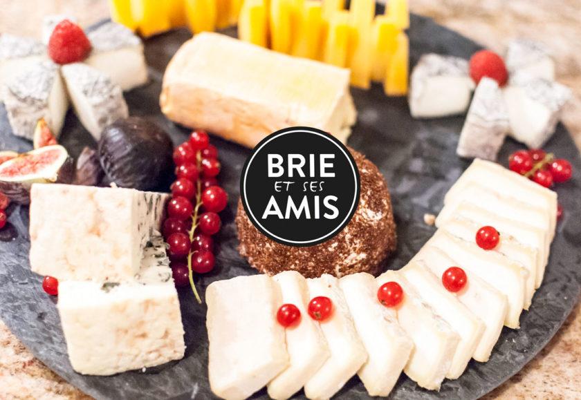 Kaeseplatte von Bries et ses amis
