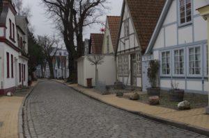 Alexandrinerstraße in Warnemünde