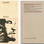 Buch von Alexander Herzen und Lenin