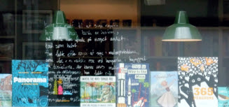 Bilderbücher, Buchladen Kopenhagen