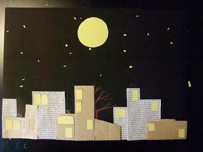 Geschichte vom Mond, Mond mit Mütze, Bildergeschichte, DIY, Indre Zetzsche