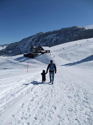 Schnee, Berge, Schweiz, Vorablberg