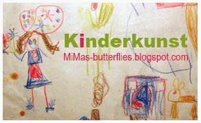 Kinderkunst, M i MAs Butterflies