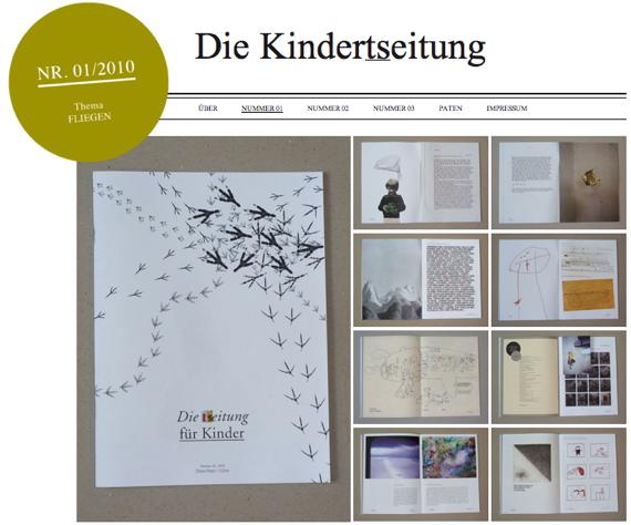 die kindertseitung, www.kindertseitung.de