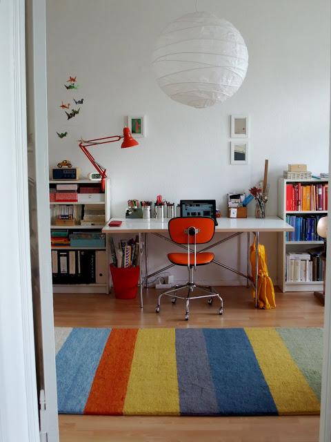 arbeitsplatz, eiermann, eiermann-tisch, architektentisch, reislampe, ikea