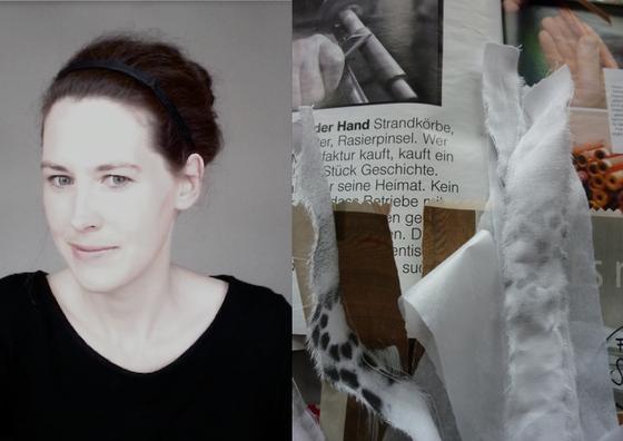 Fräulein Text, Nina Stoltz, zierrat und gold, wortkammer
