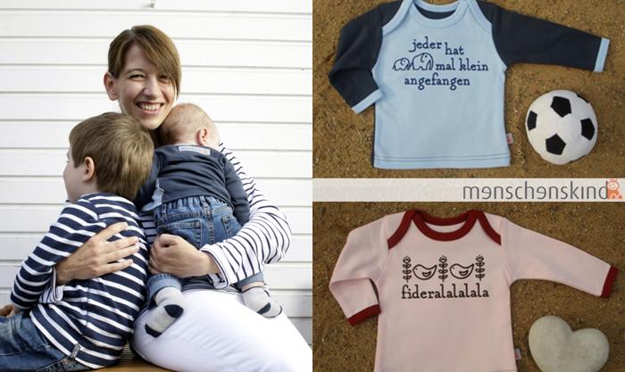 menschenskind – Online-Shop für Baby Shirts Melanie & Marc Osterried