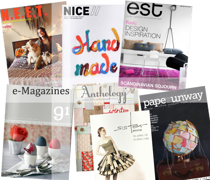 e-Mags, paperunway, anthology, est, n.e.e.t., nice, sistermag