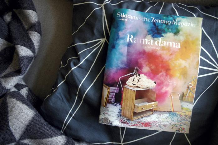 Rama Dama, Süddeutsche Magazin, designheft