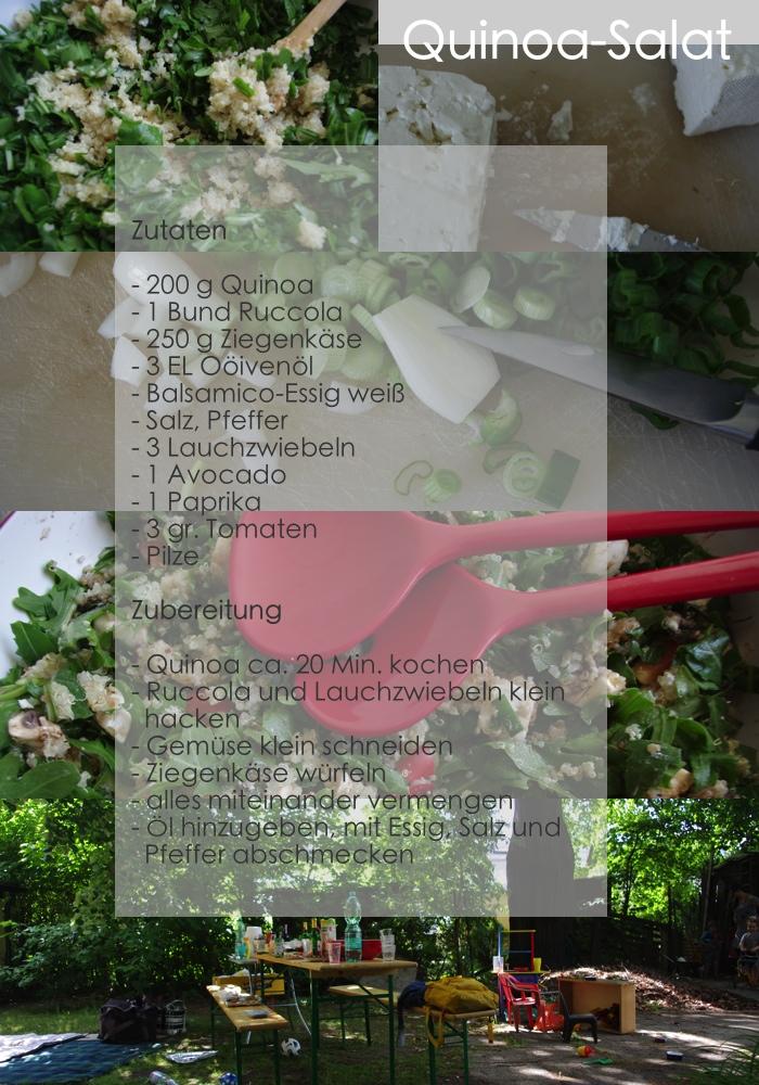Quinoa Salat, Rezept