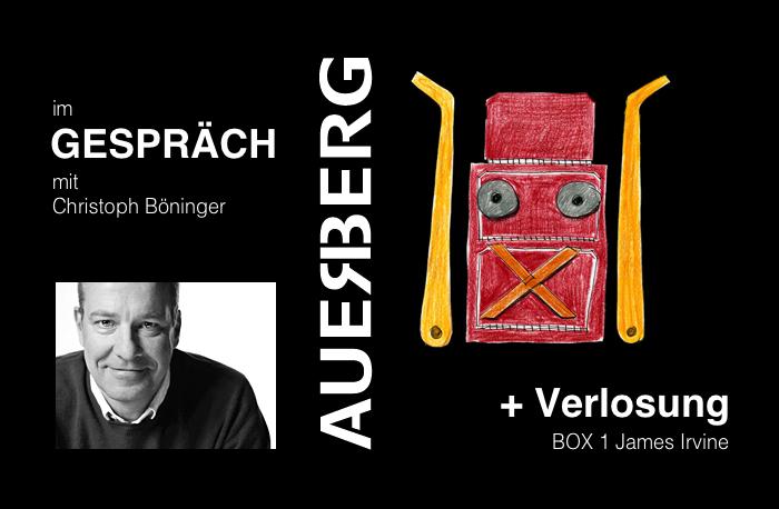 Box 1. James Irvine, AUERBERG, Möbel, Design, Christoph Böninger, Interview