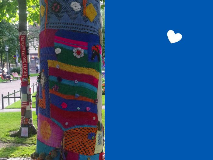 Helsinki, Guerilla Knitting