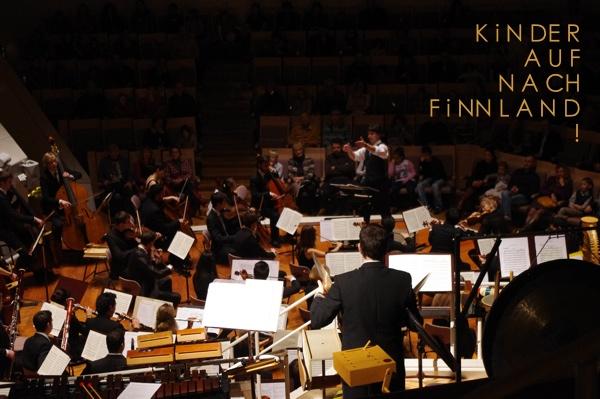 Konzert, Kinder, auf nach Finnland, Philharmonie, Kinderkonzerte