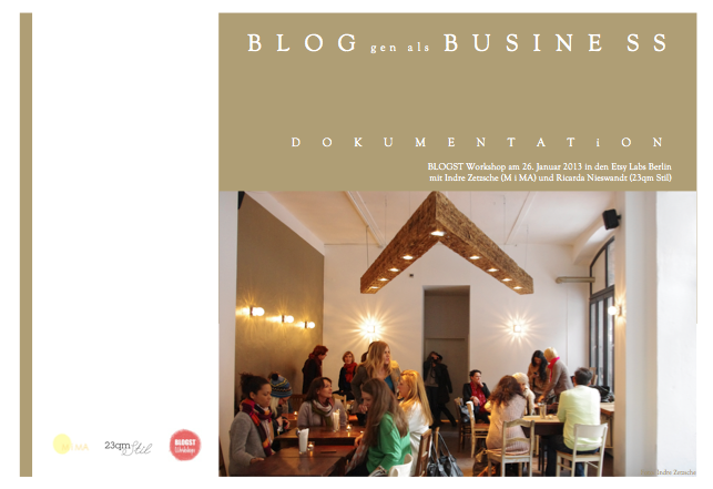 Tagwerk, BLOGST, Ricarda Nieswandt, 23qm Stil, Blogst Workshop, Bloggen als Business, Berlin