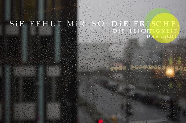 Berliner Winter, Grau, Regen