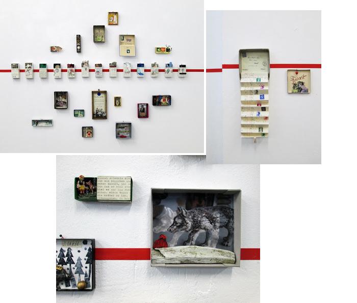 Schachtelkunst, Manos Welt, Kunstschachteln, Art Boxes