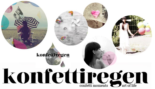 Konfettiregen, ninotschka, Nina Jahn, visual arts, design, blogging