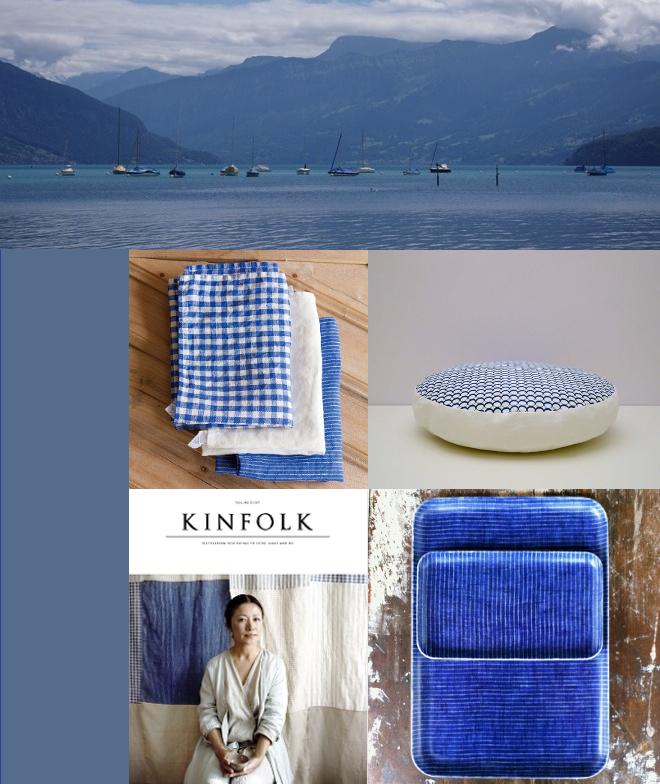 Blau, Leinen, Aare, Kinfolk
