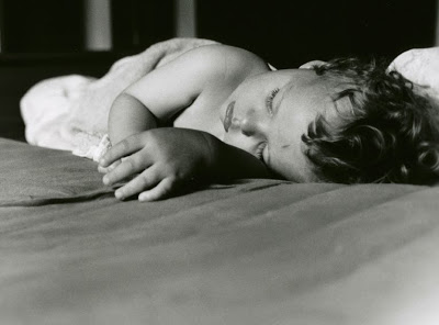 Ieva Jansone, sleeping child