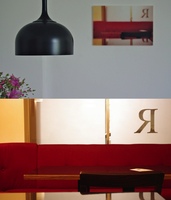 Rot, Norman Copenhagen, Lampe, Eames Chair, Café Englaender, Wien, Andy Warhol