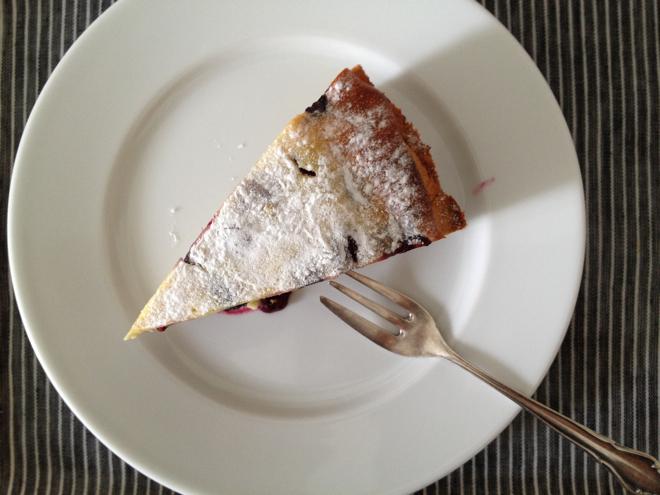 Finnischer Blaubeerkuchen, Rezept, Kuchen, Finnland