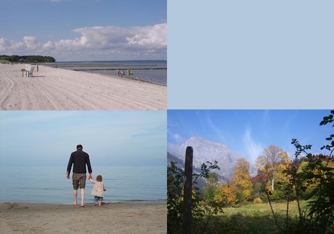 septemberliebe, blau, blaumachen, berge, strand, himmel