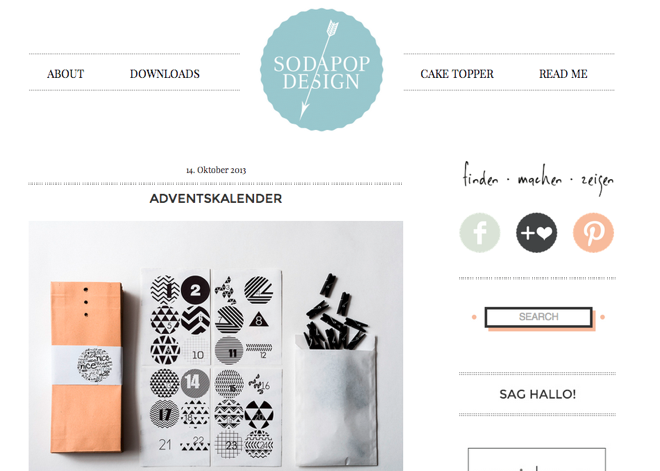 Sodapop, Finden, Machen, Zeigen, Blog, Design, Grafikdesign, Carolin Graevendieck, Formrausch GmbH