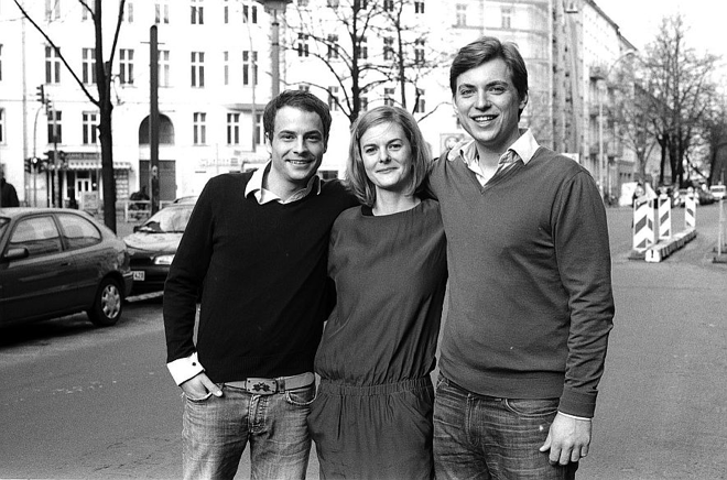 Nachhaltig, innovativ, jung. Eine Gründergeschichte aus der Berlin. Oder- Unser neues Sofa/Die Drei