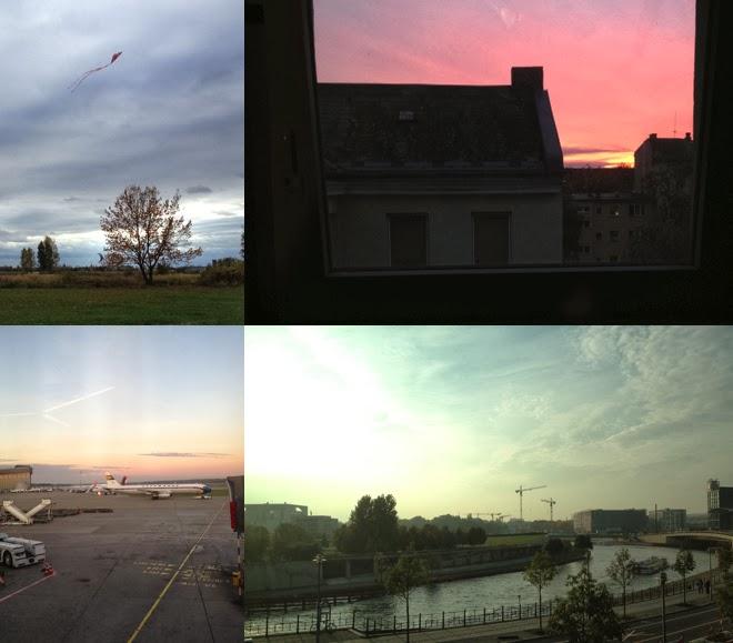 Herbst, Vorfreude, Drachensteigen, Spree, Fliegen