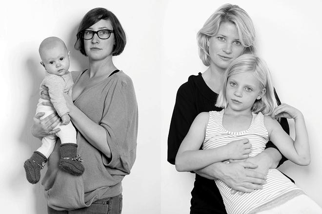 Von Müttern, Vätern, Kindern, Gelehrtenphantasien und verdammt vielen Unsicherheiten [plus 1 Platz im Mütter-Workshop] Valeria Mitelmann Mother & Daughter