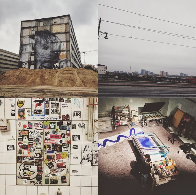 Ein Blick hinter Danane, Wald, Wasser, Danane, Dane, M i MA, Collage, Dana Langmuss, Berlin