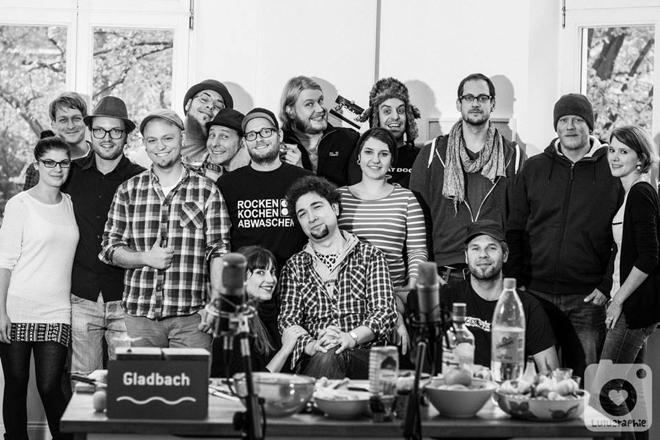 Ein Blick hinter, MG Kitchen TV, Luisa Sole, André Sole Bergers, Musik, Küche, Projekt, Lulugraphie