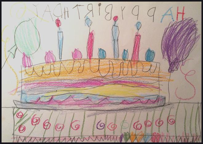 Kind of Art, Kinderkunst, Kunst von Kindern, Philuko, Blogparade, Helden des Alltags, Geburtstag