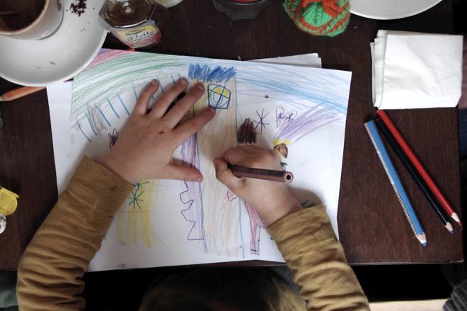 Kind of Art, Kinderkunst, Kunst von Kindern, Philuko, Blogparade, Helden des Alltags, Geburtstag, Malen, Zeichnen