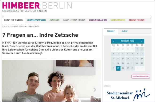 himbeer berlin, fruehlingstuch, M i MA, berlin, stadtmagazin, indre zetzsche