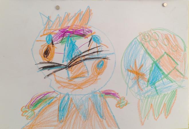Kinderkunst, Malen, Zeichnen, Kinder, Philuko