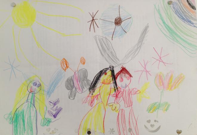 kinderkunst, zeichnen, malen, kinder, philuko